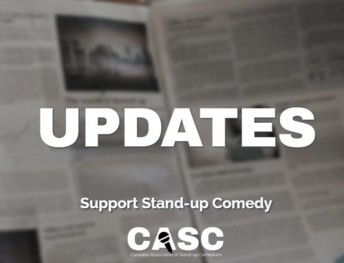 """Update on """"Stand-Up Comedy as Art Form"""""""