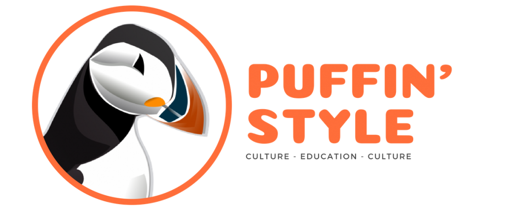 puffin logo long