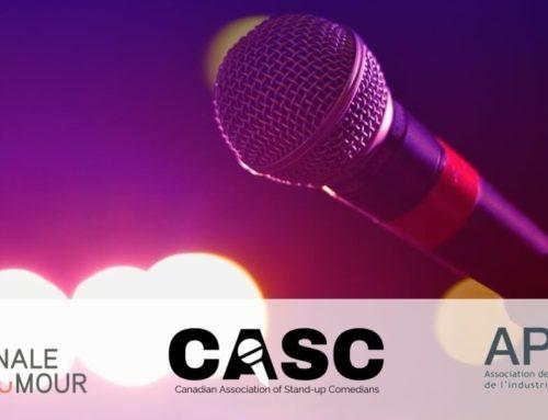 CASC, l'APIH and l'École nationale de l'humour join forces