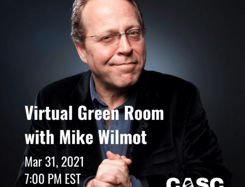 Virtual Green Room with Mike Wilmot