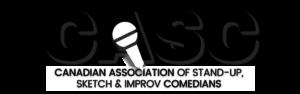 Canadian Association of Stand-up, Sketch and Improv Comedians Logo